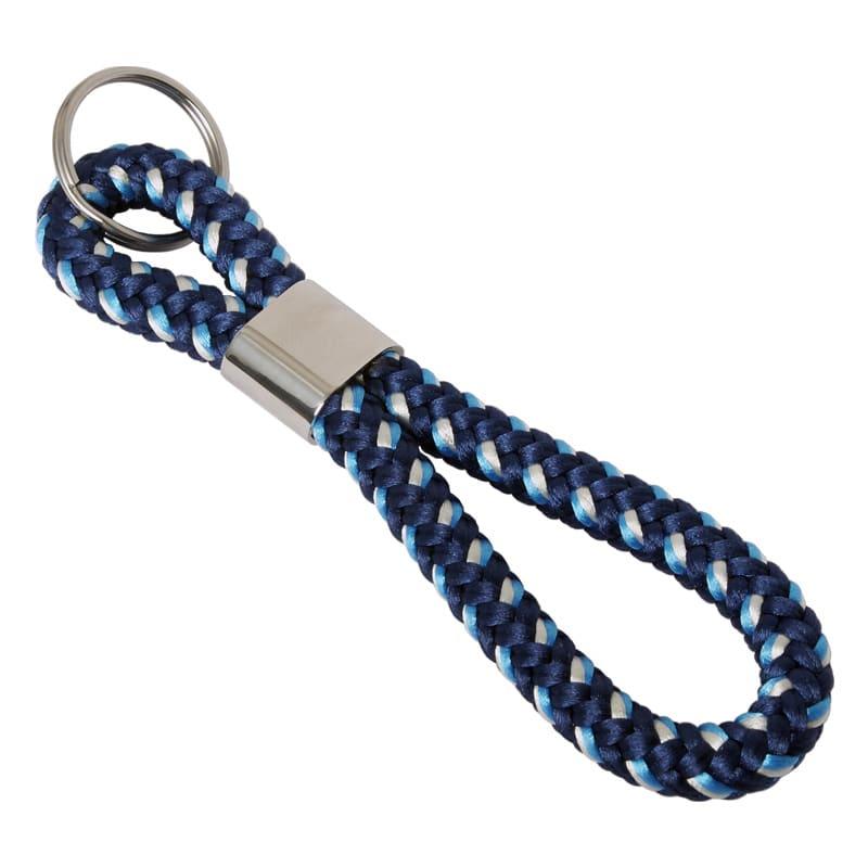 Schlüsselanhänger mit geflochtenem Seil